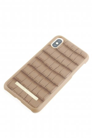 Ideal of Sweden Mobile Phone Case brown allover print casual look