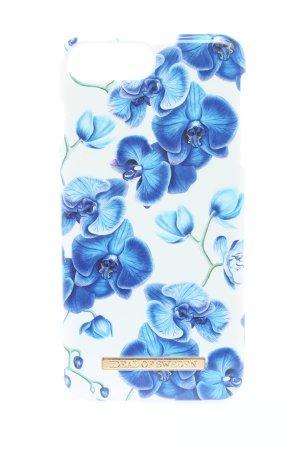 Ideal of Sweden Handytasche weiß-blau Blumenmuster Casual-Look