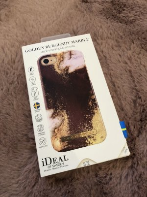 Ideal of sweden Hülle Handy iPhone 8 neu Gold rot accesoires