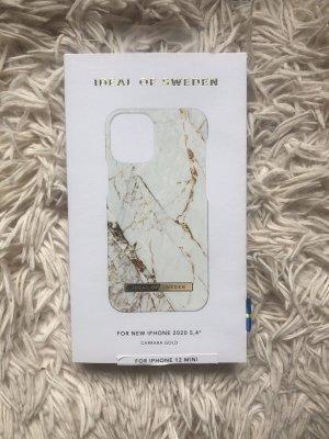 iphone Étui pour téléphone portable blanc-doré