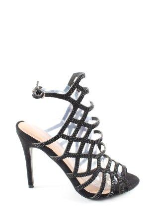 Ideal Riemchenpumps schwarz Elegant