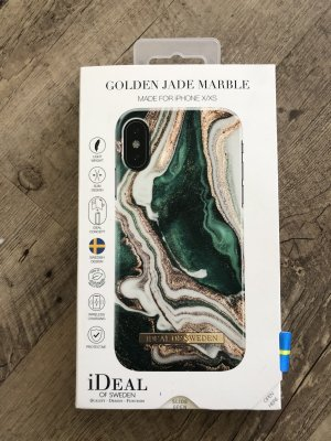 Idealofsweden Golden Jade Marble Case for iPhone X/Xs