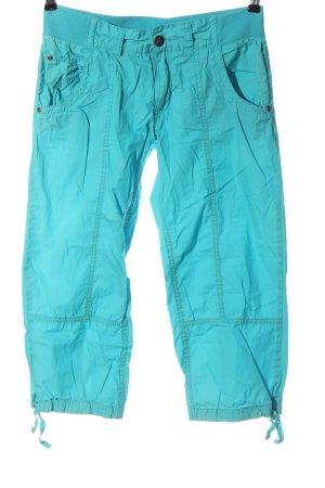 Identic Pantalon 3/4 bleu style décontracté