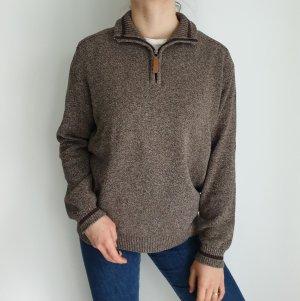 identic L 52 54 Cardigan Strickjacke Oversize Pullover Hoodie Pulli Sweater Top True Vintage