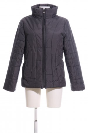 Identic Steppjacke hellgrau Steppmuster Casual-Look