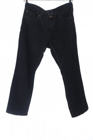 Identic Straight-Leg Jeans schwarz Casual-Look