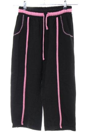 Sweathose schwarz-pink Casual-Look