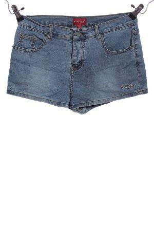 IDPDT Jeansshorts blau Casual-Look