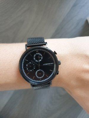 Liebeskind Berlin Montre avec bracelet métallique noir