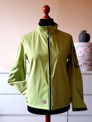 IGUANA Outdoor Softshell Jacke quietschgrün wasserdicht