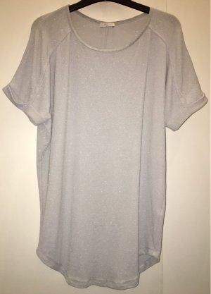 iheart T-shirt argento-grigio chiaro Poliammide