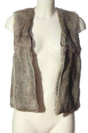 iheart Smanicato di pelliccia grigio chiaro stile casual