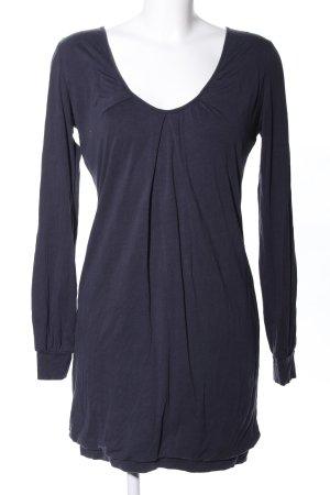 iheart Jerseykleid blau meliert Casual-Look