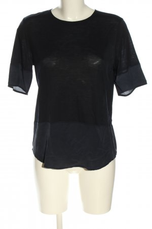 iheart Kurzarm-Bluse schwarz Casual-Look