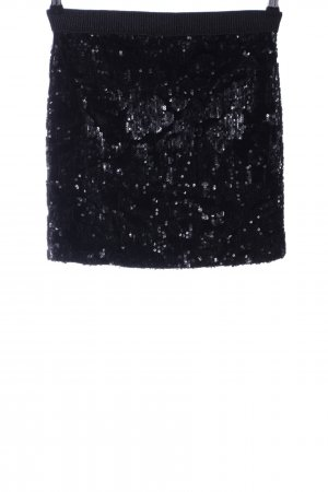 iheart Minirock schwarz extravaganter Stil