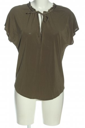 iheart Schlupf-Bluse khaki Business-Look