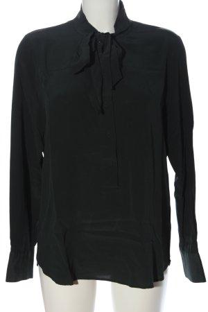 iheart Jedwabna bluzka czarny W stylu casual