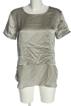 iheart Silk Blouse light grey wet-look