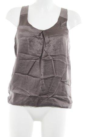 iheart Top in seta grigio-lilla-malva stile classico