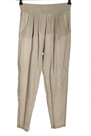 iheart Stoffhose wollweiß Allover-Druck Casual-Look