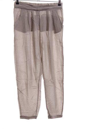 iheart Pantalone jersey marrone stampa integrale stile casual