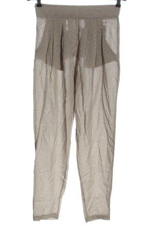 iheart Stoffhose weiß-braun Allover-Druck Street-Fashion-Look