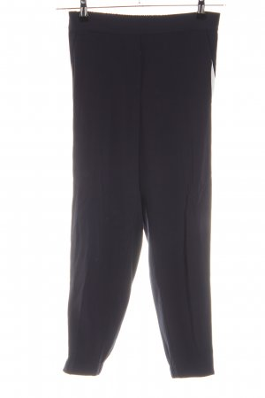 iheart Pantalone jersey nero-bianco stile casual