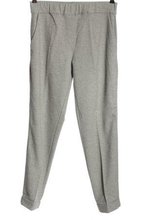 iheart Pantalone jersey grigio chiaro puntinato stile casual