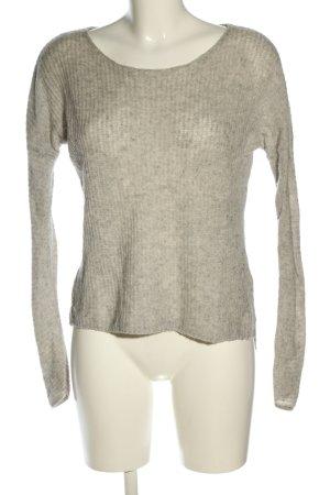 iheart Maglione lavorato a maglia grigio chiaro puntinato stile casual