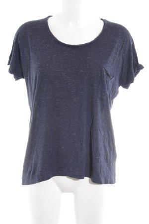iheart T-Shirt blau meliert Casual-Look