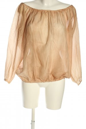 iheart Blusa trasparente marrone stile casual