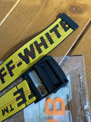 IIndustrial Belt Off-White