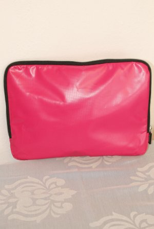 IKEA Laptop bag pink polyester