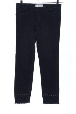 Ikks 7/8 Jeans schwarz Casual-Look