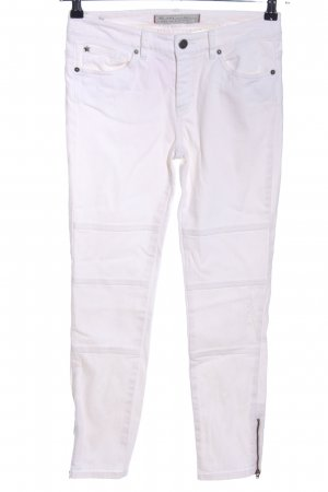 Ikks 7/8 Jeans weiß Casual-Look