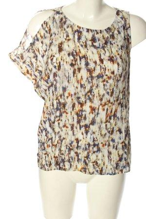 Ikks Camisa de mujer estampado con diseño abstracto look casual