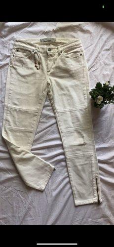 Ikks Pantalone a 7/8 crema