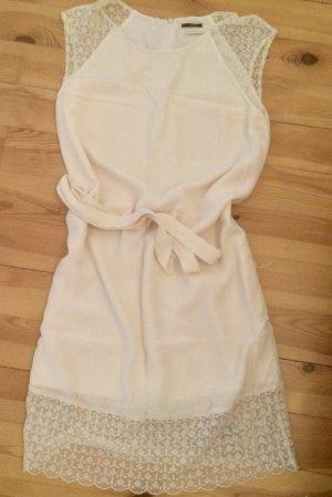 Ikks Vestido de Verano blanco puro Seda