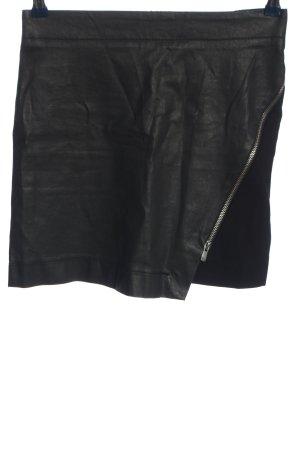 Ikks Minifalda negro look casual