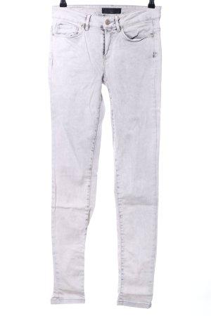 Ikks Skinny Jeans hellgrau Casual-Look