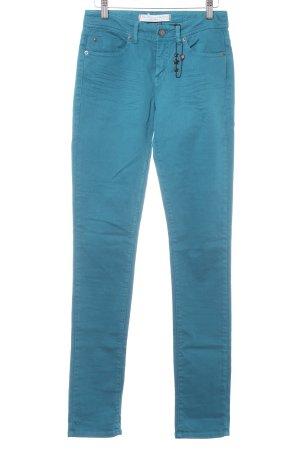 Ikks Slim Jeans petrol Casual-Look