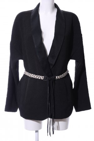 Ikks Wickeljacke schwarz Business-Look