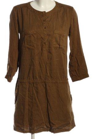 IKKS WOMEN Robe chemise brun style décontracté