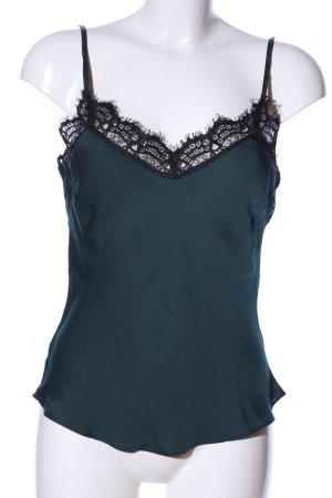 IKKS WOMEN Top di merletto verde elegante