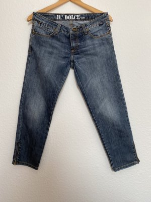 Il Dolce 3/4 Length Jeans cornflower blue