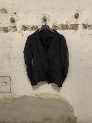 Ilaria Nistri Jersey Blazer negro