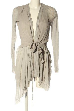 Ilaria Nistri Jersey Blazer gris claro look casual