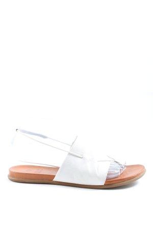 ILC Sandały japonki biały W stylu casual