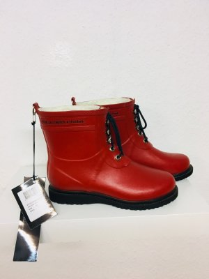 Ilse jacobsen Wellington laarzen rood