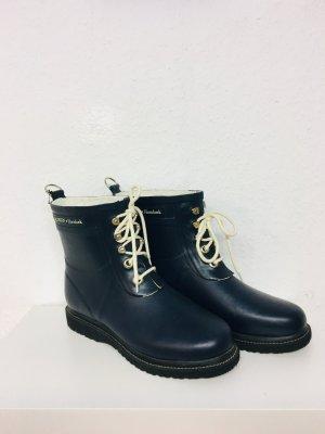 Ilse jacobsen Wellington laarzen donkerblauw